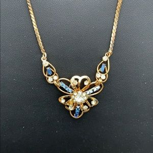 Gold over Silver Carl Art Blue $125